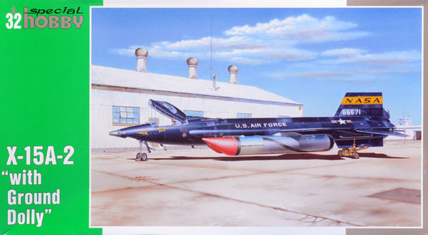 "North American X-15-A2 with ""Ground Dolly"" Special Hobby 32031"