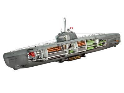 deutsches u boot typ xxi mit interieur revell 05078