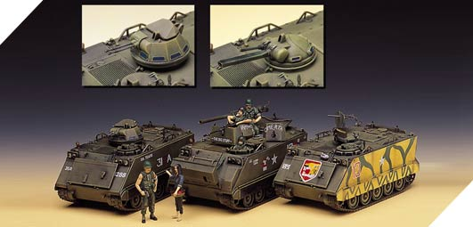 M-113 Vietnam Version Academy 13266