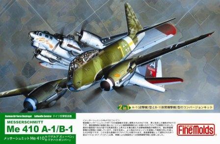 Messerschmitt Me-410 A-1/B-1 FineMolds L04