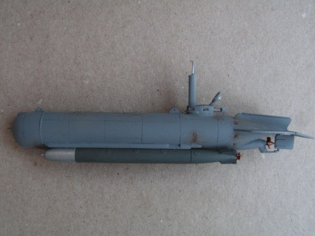 Will midget molch submarine think, that