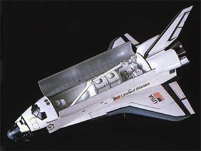 Space Shuttle Oribiter Hasegawa SP133