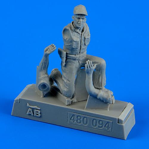 AEROBONUS 480094 USAF Maintenance Crew Farm Gate Operation Vietnam War in 1:48