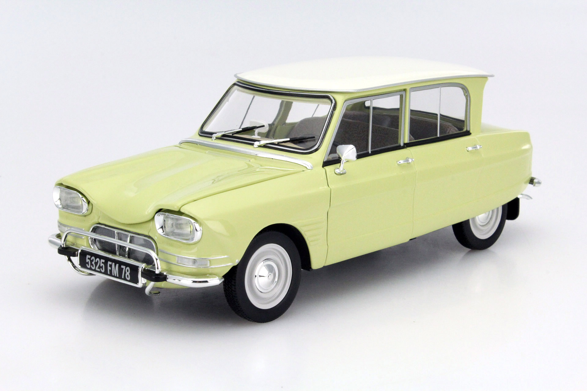 citroen ami 6 1964 naples yellow die cast model norev 181535. Black Bedroom Furniture Sets. Home Design Ideas
