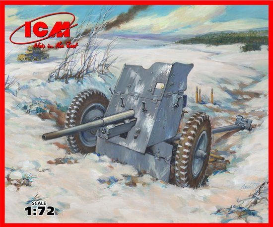 German 50 Mm Anti Tank Gun: German 3,7 Cm Pak 36 Anti-tank Gun ICM 72251