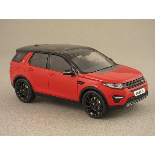 LAND ROVER DISCOVERY SPORT 2015 RED