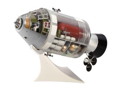 apollo spacecraft interior revell - photo #1