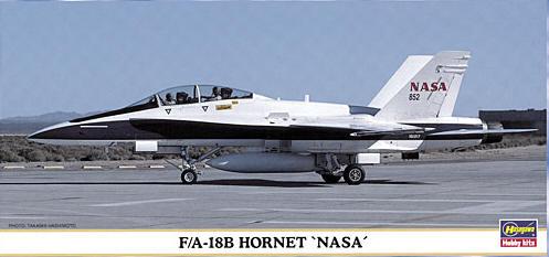 F/A-18B Hornet NASA Hasegawa 00080