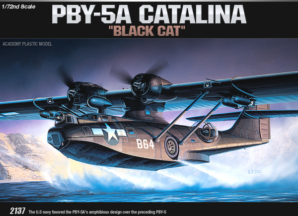 PBY-5A CATALINA [BLACK CAT] Academy 12487