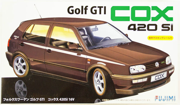volkswagen golf iii gti cox 420si 16v fujimi 12618. Black Bedroom Furniture Sets. Home Design Ideas
