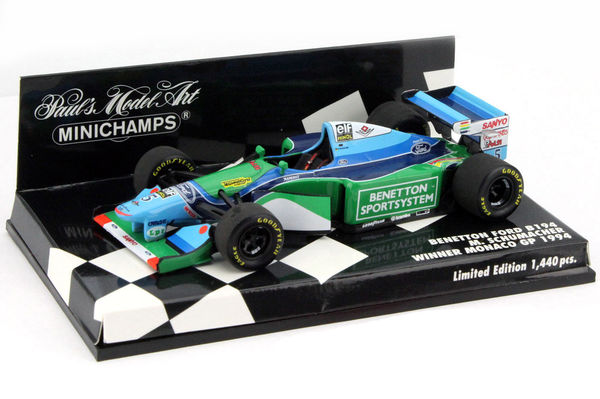 Benetton Ford B194 5  Diecast model  Minichamps 400940005