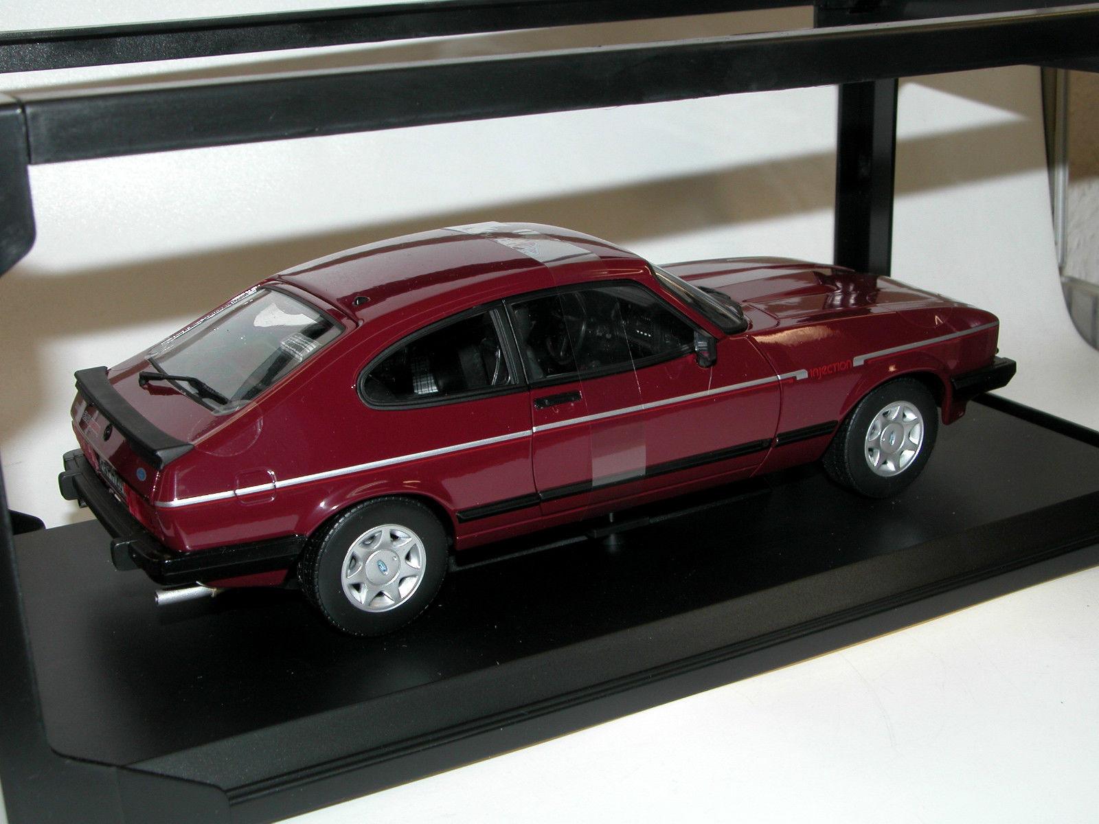 ford capri mkiii 2 8 injection 1982 red die cast model norev 182717. Black Bedroom Furniture Sets. Home Design Ideas