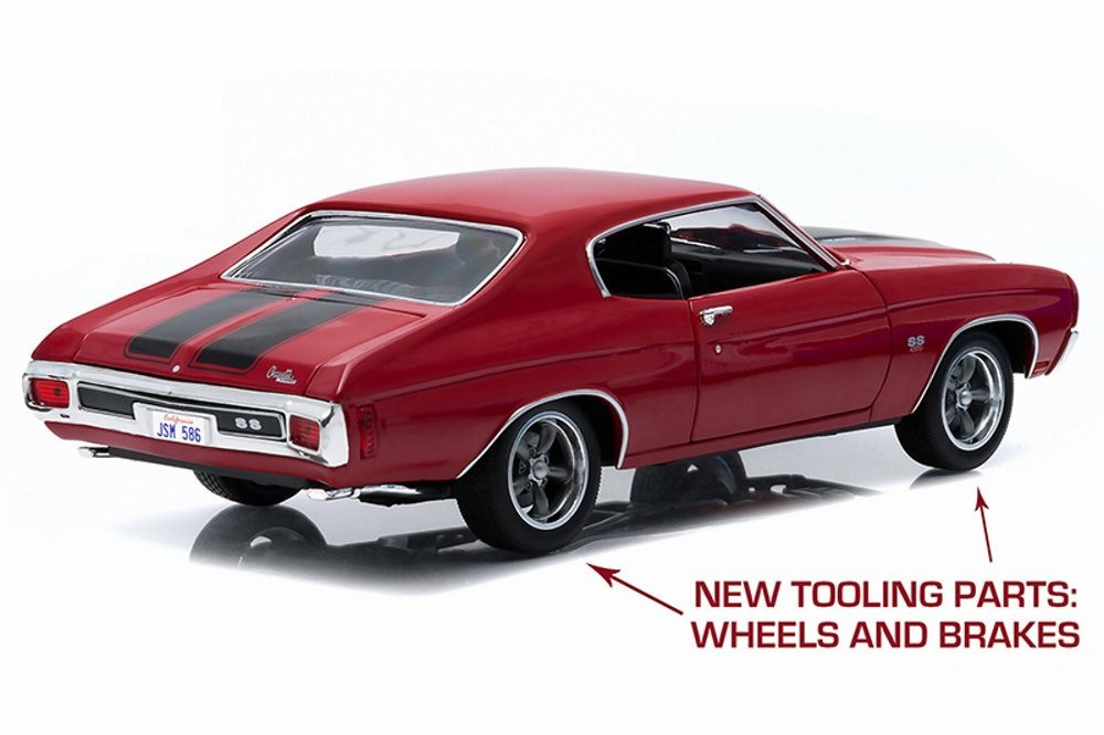 "CHEVROLET CHEVELLE SS 1970 RED ""FAST & FURIOUS"" 2009 - Die ..."