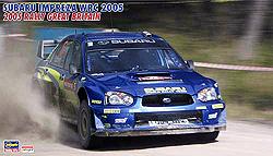 subaru impreza wrc 2005 2005 rally great britain hasegawa 20229. Black Bedroom Furniture Sets. Home Design Ideas