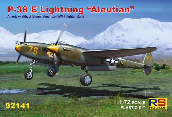 P-38 E Aleutian RS Models 92141