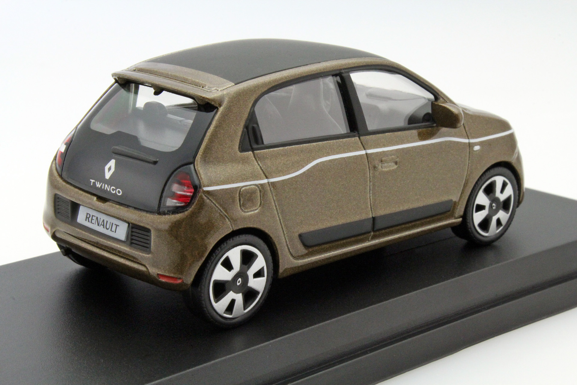 renault twingo 2014 cappuccino brown die cast model norev 517415. Black Bedroom Furniture Sets. Home Design Ideas