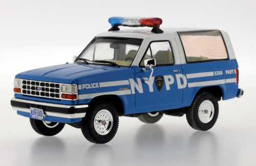 Ford Bronco II NYPD New York Police