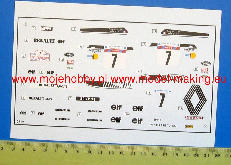 Heller 80717 Renault R5 Turbo