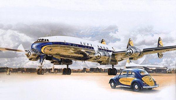 Lockheed L 1049g Super Constellation Heller 80391