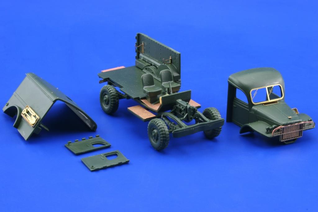 Wc 54 ambulance academy minicraft eduard 22111 - Wc model ...
