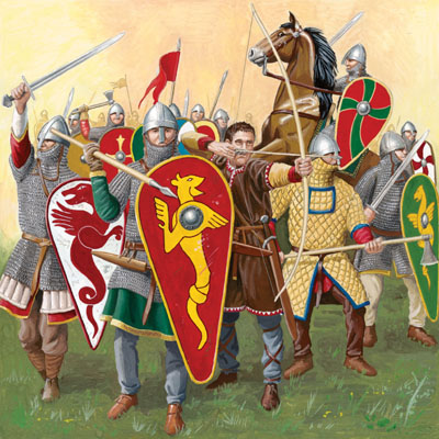 The norman conquest and the french