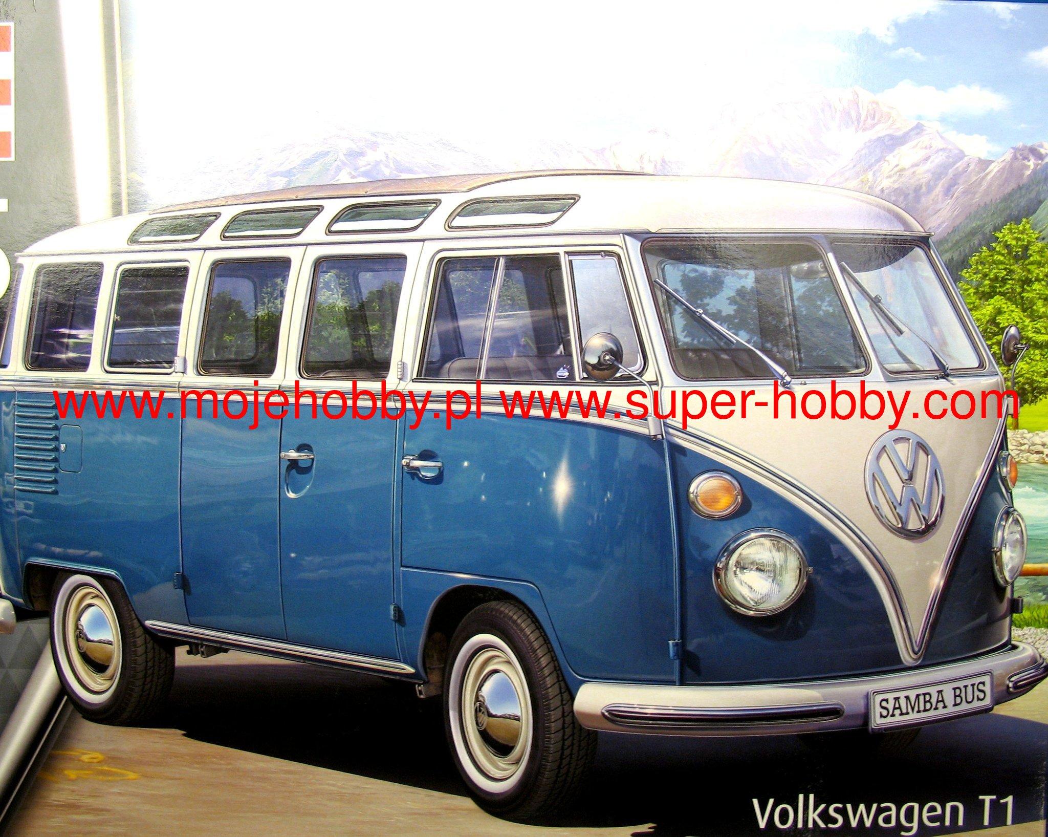 vw typ 2 t1 samba bus revell 07009. Black Bedroom Furniture Sets. Home Design Ideas