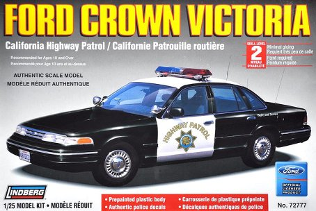 ford crown victoria california highway patrol car lindberg