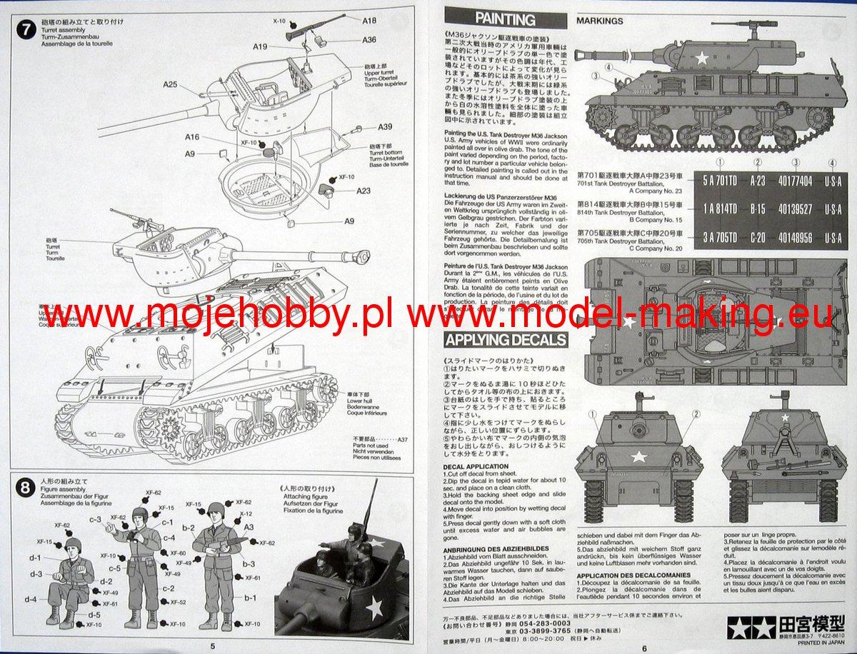 Us tank destroyer m36 jackson image 2 tam89553 4 jpg