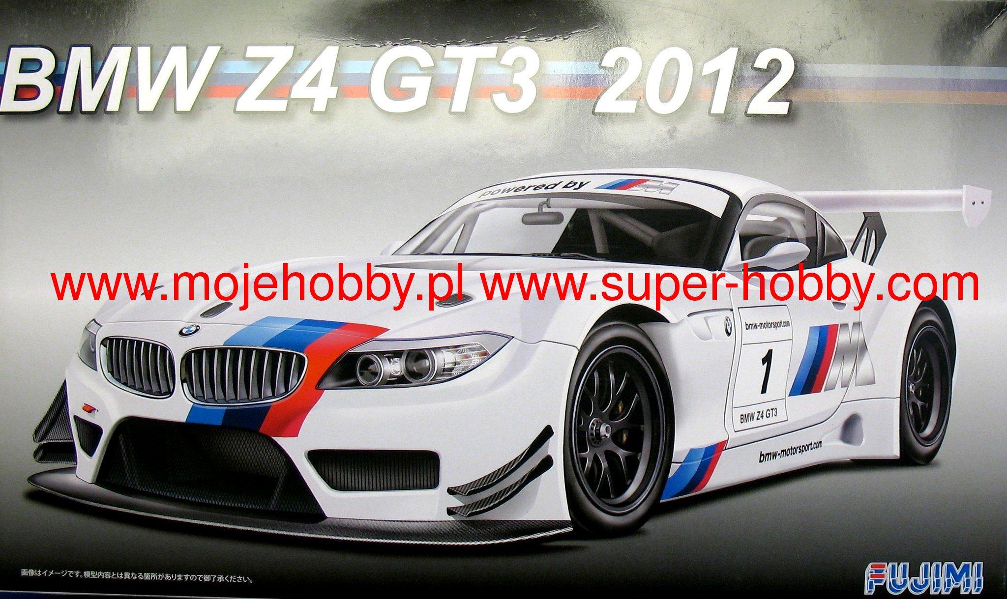 Bmw Z4 Gt3 2012 Fujimi 125688