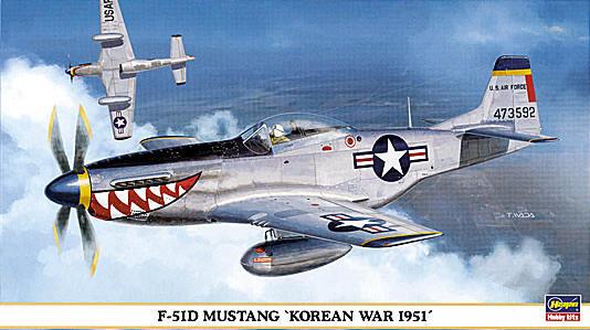 P 51d Korean War 1951 Hasegawa 09362
