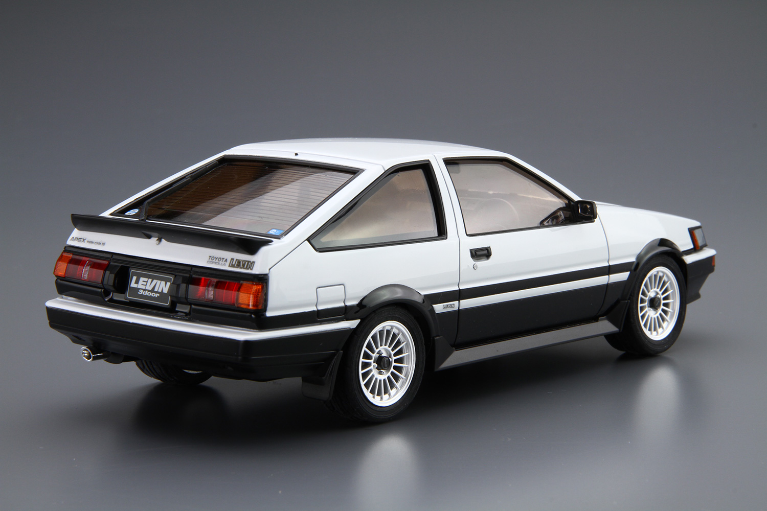 toyota ae86 corolla levin gt ap aoshima 05225. Black Bedroom Furniture Sets. Home Design Ideas