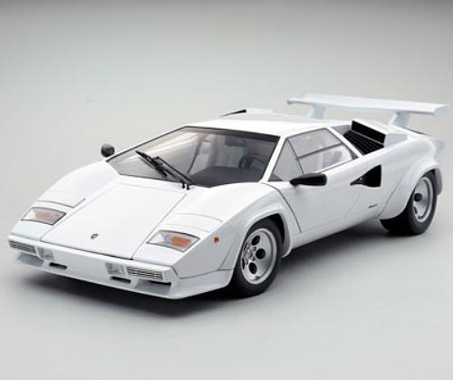 lamborghini countach lp5000s die cast model kyosho 08612w. Black Bedroom Furniture Sets. Home Design Ideas