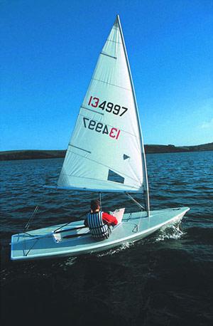 Laser Segelboot Revell 05459