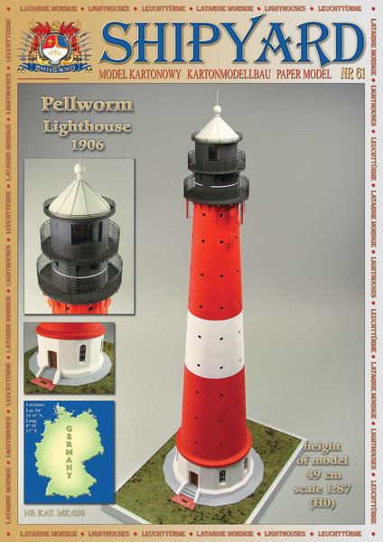 Shipyard Mk030 61 Pellworm Lighthouse Nr61 Skala 187