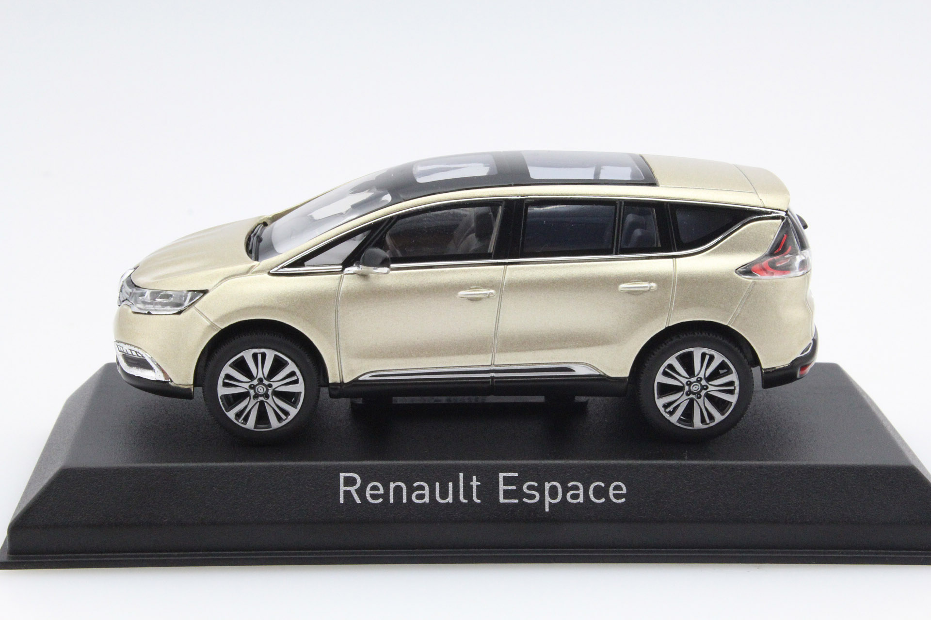 renault espace initiale paris 2015 beige dune die cast model norev 517949. Black Bedroom Furniture Sets. Home Design Ideas