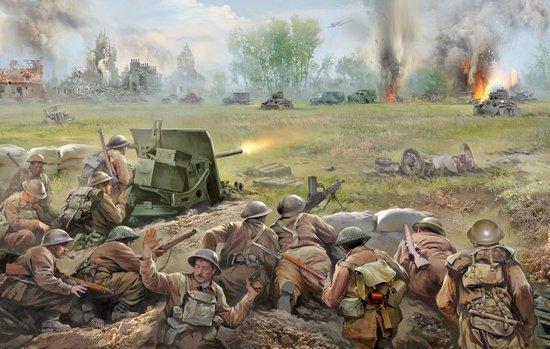 world war ii blitzkrieg 1940 historical war games starter set zvezda 6192. Black Bedroom Furniture Sets. Home Design Ideas