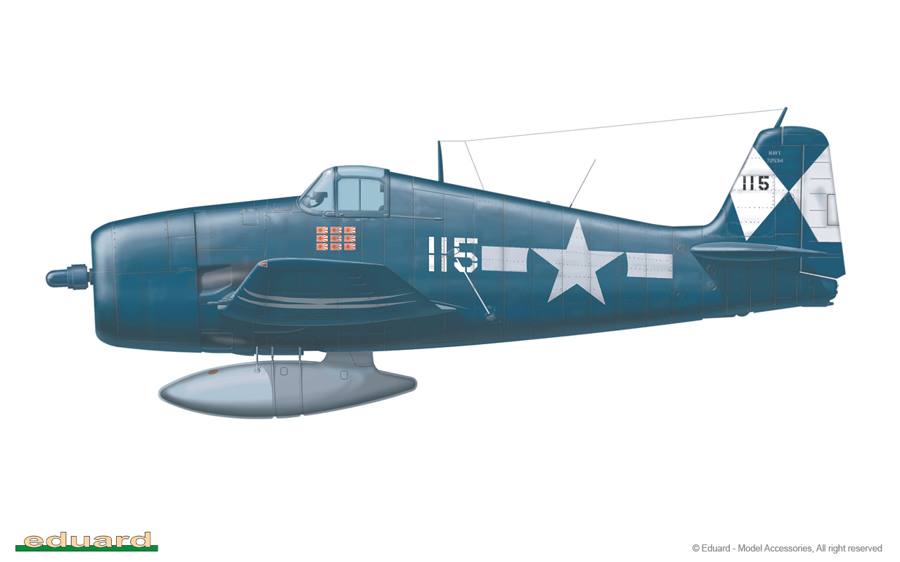F6F-5 Hellcat Weekend Edition Eduard 7415