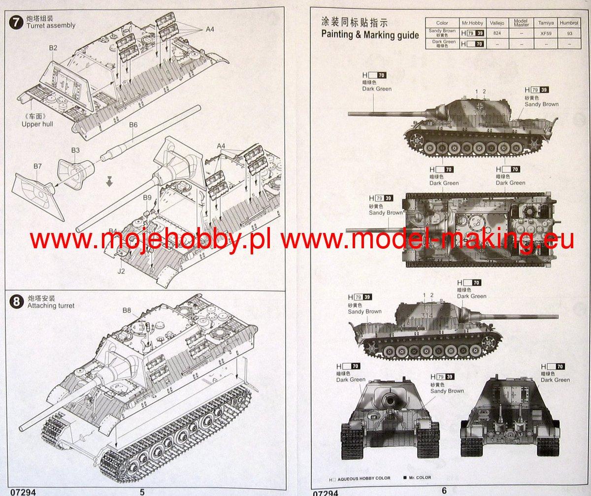 sd.kfz.186 jagdtiger porsche production 1/35